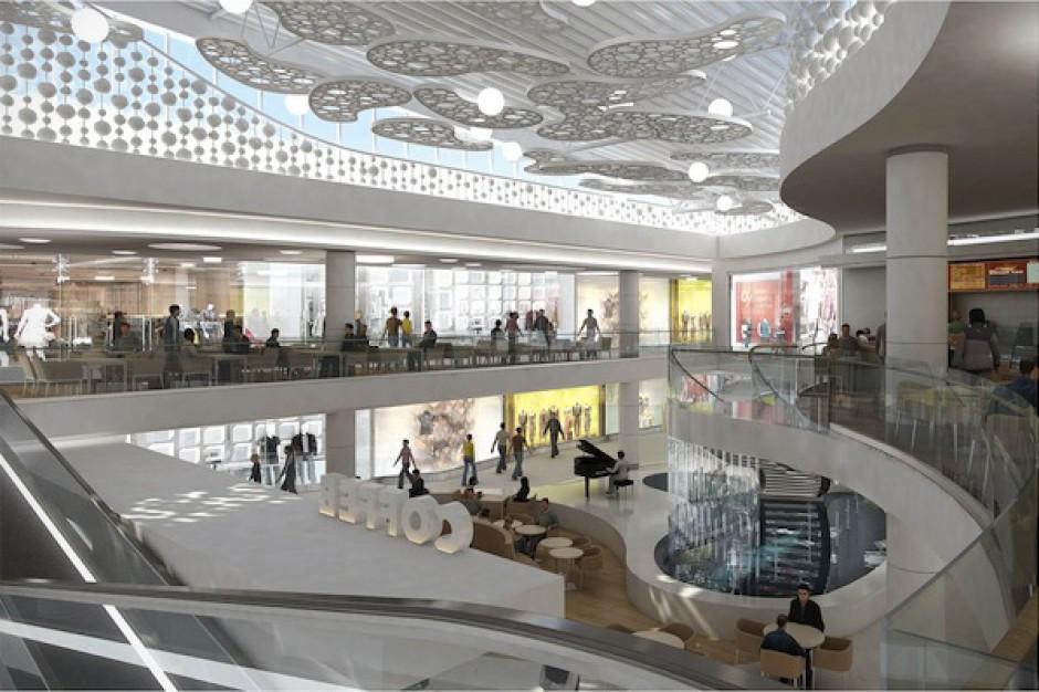 Centrum Handlowe Klif Gdynia zmieni się - zobacz zdjęcia