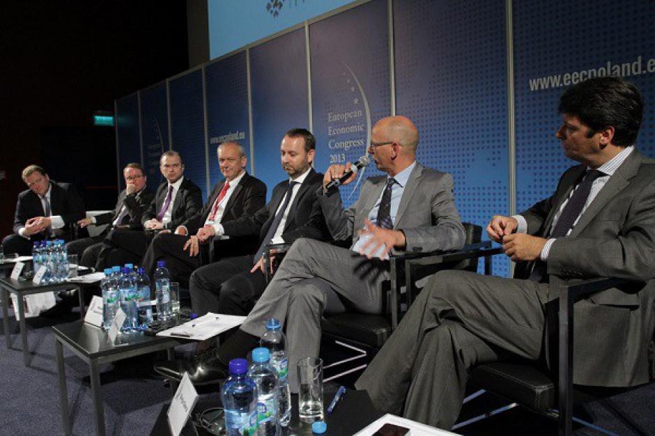 """Zobacz zdjęcia z sesji """"Sektor nieruchomości komercyjnych w Europie Centralnej"""" na Europejskim Kongresie Gospodarczym"""
