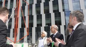 Zobacz zdjęcia z otwarcia najnowszego biurowca wybudowanego przez firmę Skanska
