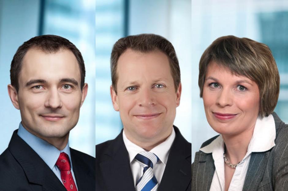 Dział rynków kapitałowych DTZ wzmocniony o trzy nowe osoby