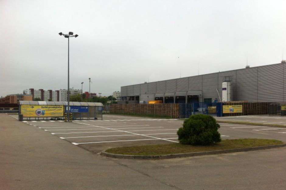 Nowy parking w Centrum Handlowym Ogrody