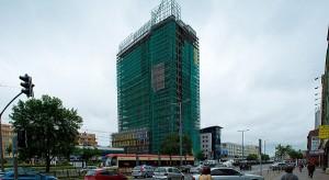 Zobacz zdjęcia z zawieszenia wiechy w Centrum Biurowym Neptun