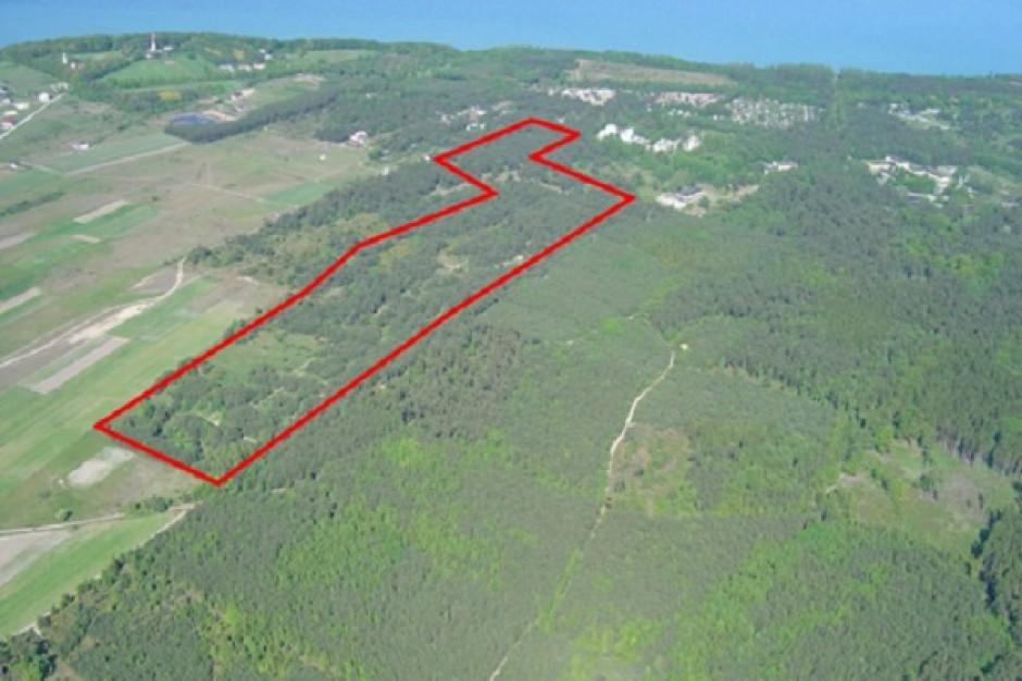 22 ha nadmorskich gruntów pod inwestycje wypoczynkowe