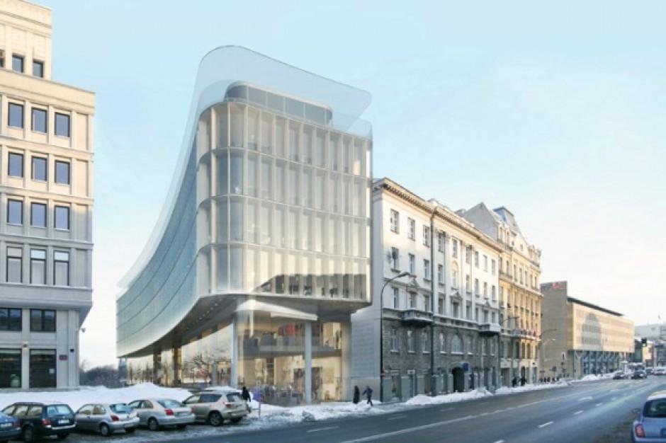 Symboliczny początek budowy nowego biurowca w centrum stolicy
