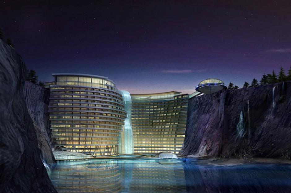 Ruszyła budowa pięciogwiazdkowego hotelu w 100-metrowym kamieniołomie