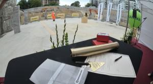 Ruszyła budowa biurowca Konsalnetu w Warszawie - zdjęcia