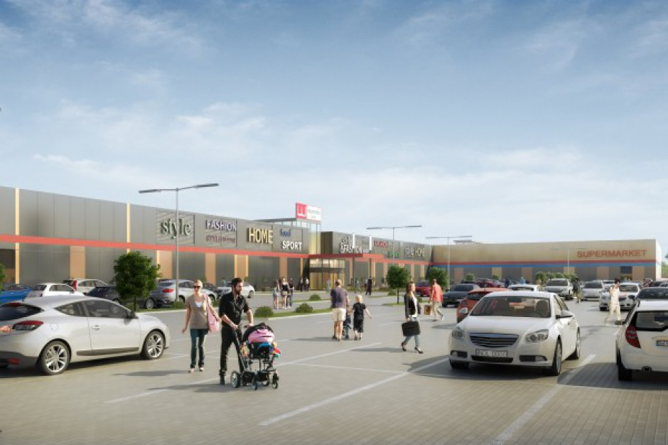 Rusza budowa centrum handlowego Marcredo Center Kutno