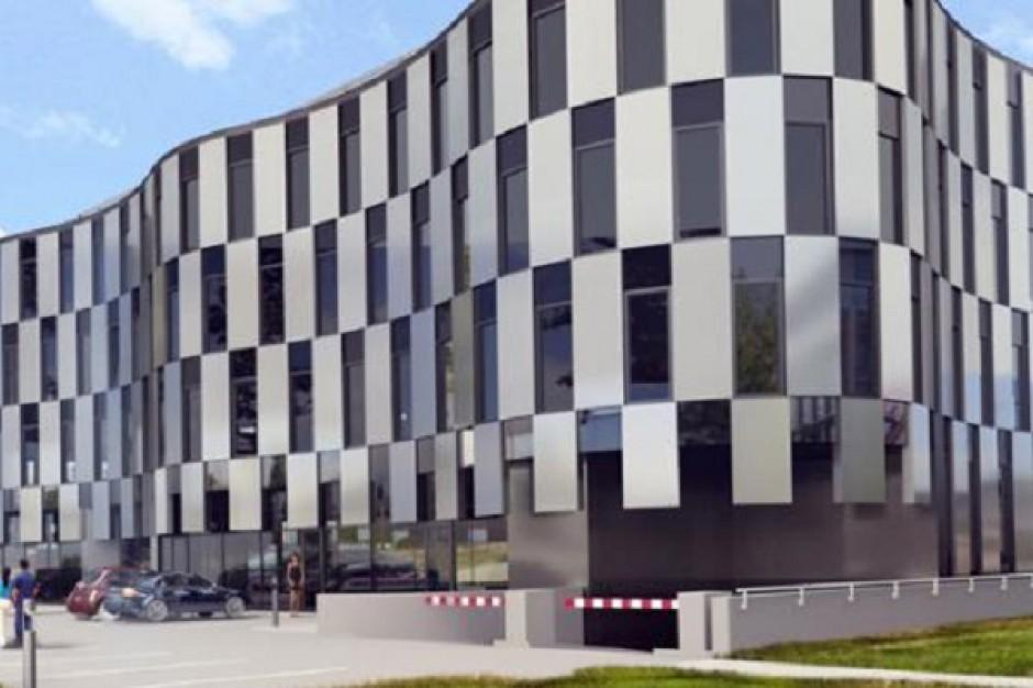 Trwa budowa biurowca na warszawskim Ursynowie