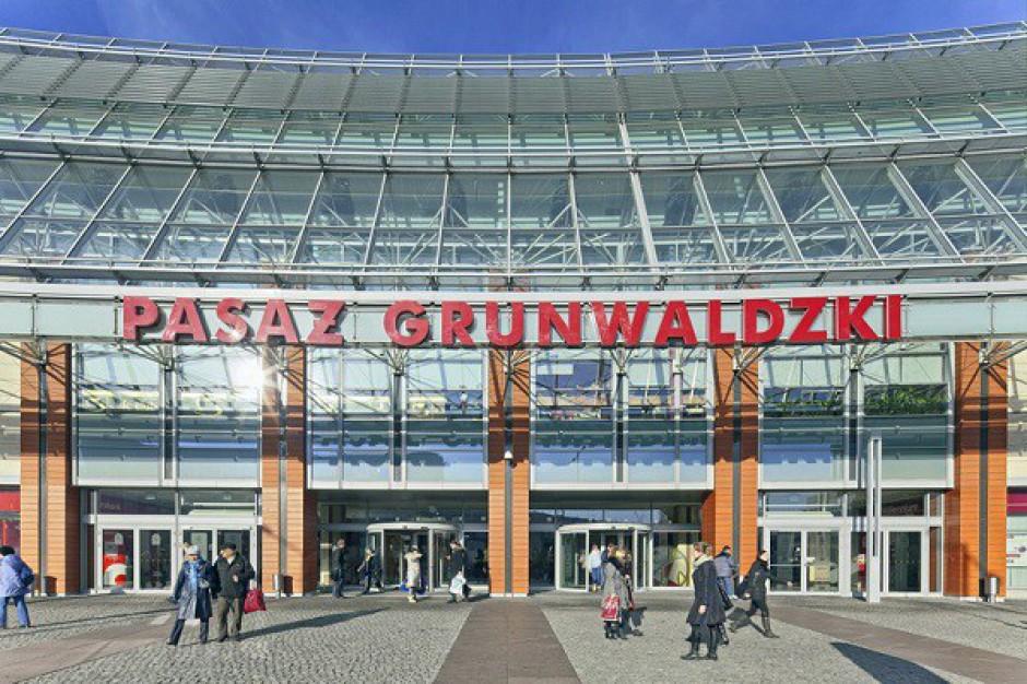 Pasaż Grunwaldzki z nową stroną internetową