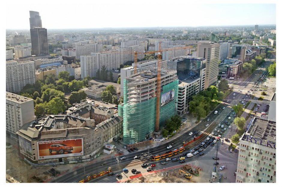 Zobacz jak rośnie Atrium 1 w centrum Warszawy