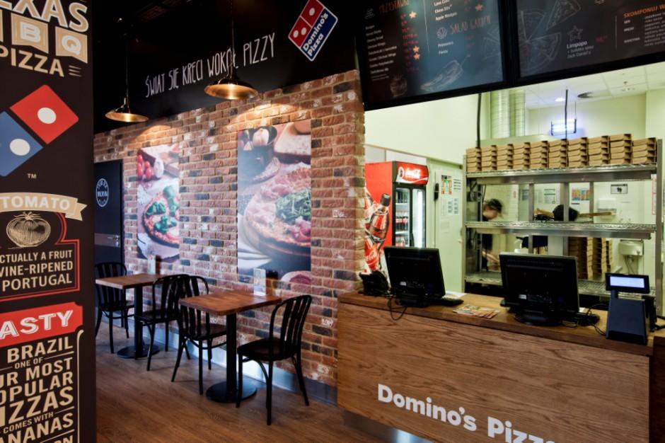 Roboty w służbie pizzerii Dominos