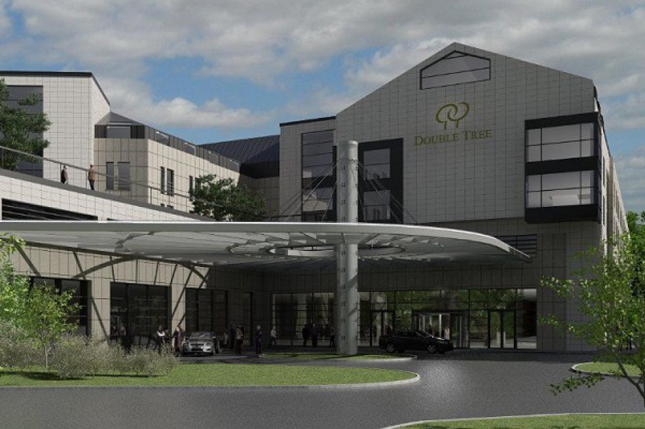 Mirbud wrócił na plac budowy Double Tree by Hilton
