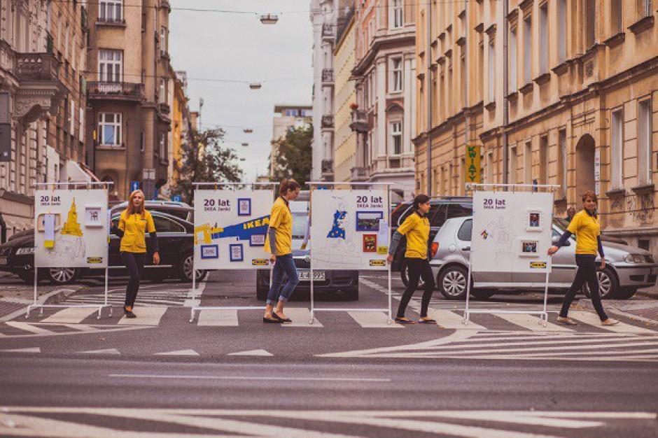 Kampania na 20-lecie sklepu IKEA w Jankach