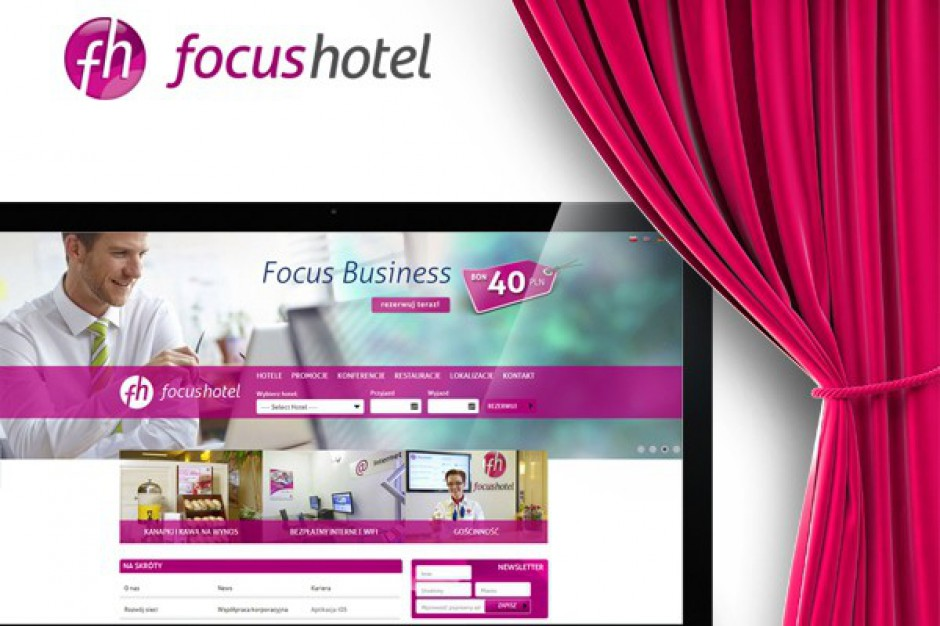 Focus Hotels mają nową stronę internetową