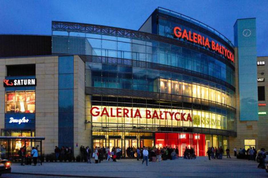 Wrócił handel do Galerii Bałtyckiej po powodzi