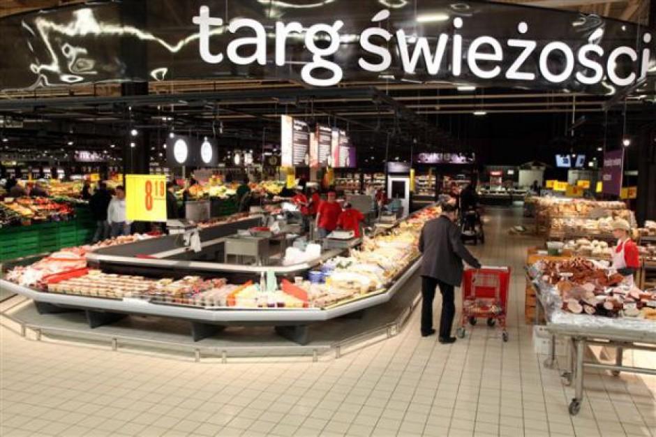 Carrefour ze wzrostami