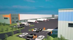 Hala B North-West Logistic Park w Szczecinie nabiera kształtów