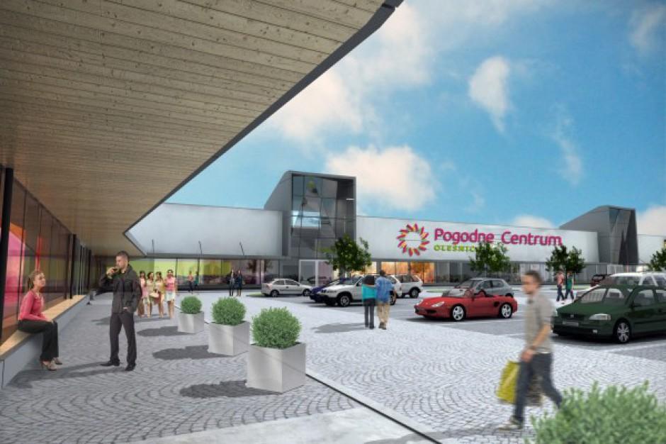 Pogodne Centrum w Oleśnicy coraz bliżej otwarcia