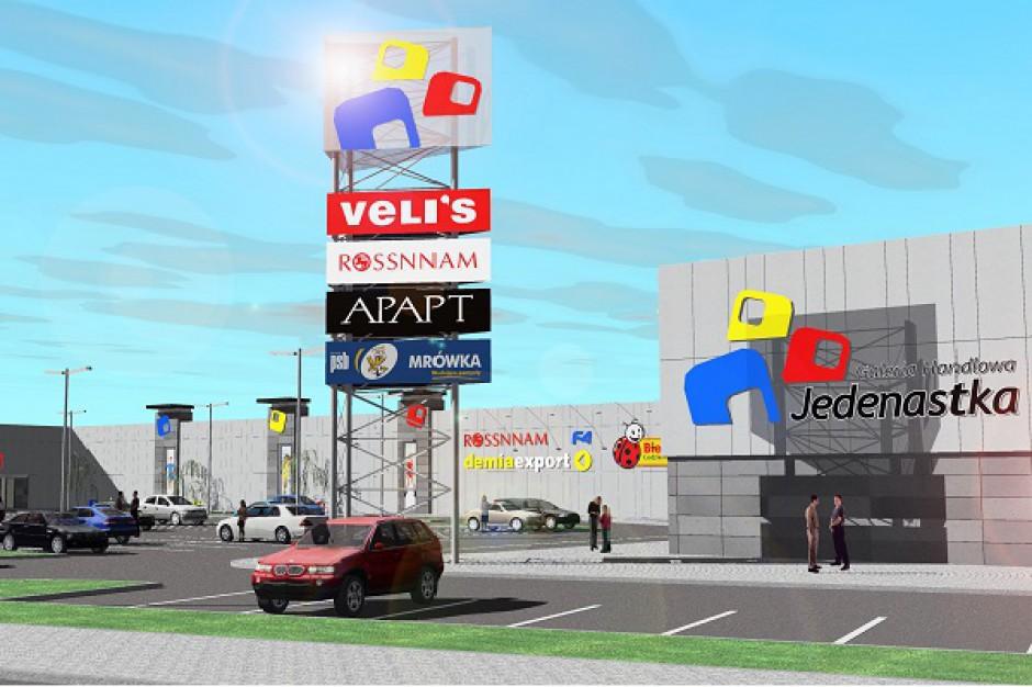 Galeria 11-stka w Lublińcu będzie rozbudowana