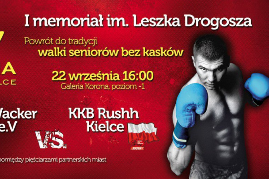Galeria Korona Kielce uczci pamięć wybitnego sportowca