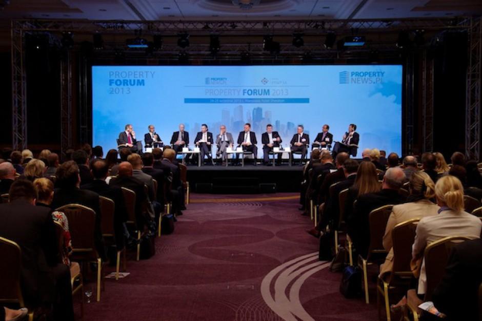 """Rozwój rynku nieruchomości to """"niekończąca się historia"""" - sesja inauguracyjna Property Forum"""