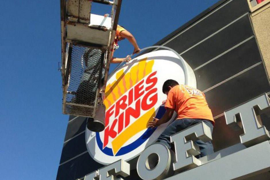 Burger King zmieni nazwę na Fries King?