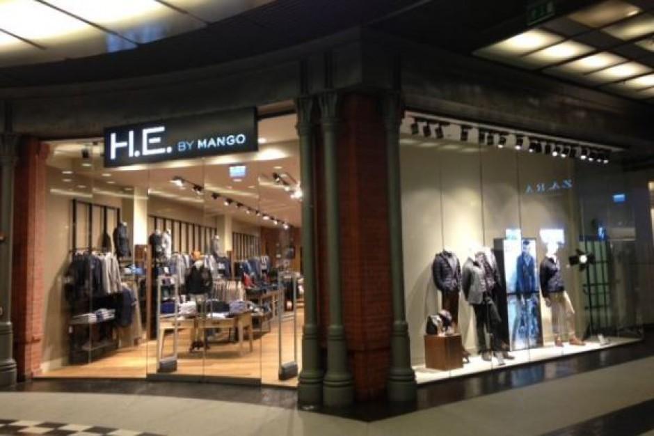 Pierwszy sklep Mango dla mężczyzn już otwarty