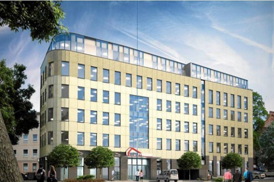 Trwa realizacja biurowca w Olsztynie