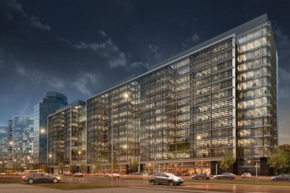 Eurocentrum Office Complex świętuje półmetek budowy
