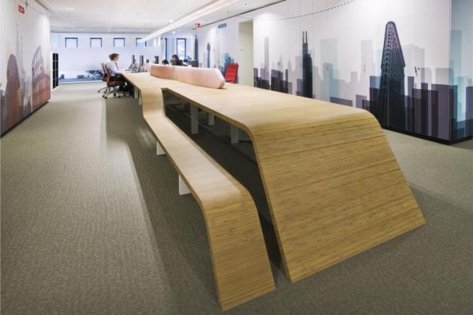 Puste biurka nie pracują na siebie - raport CBRE
