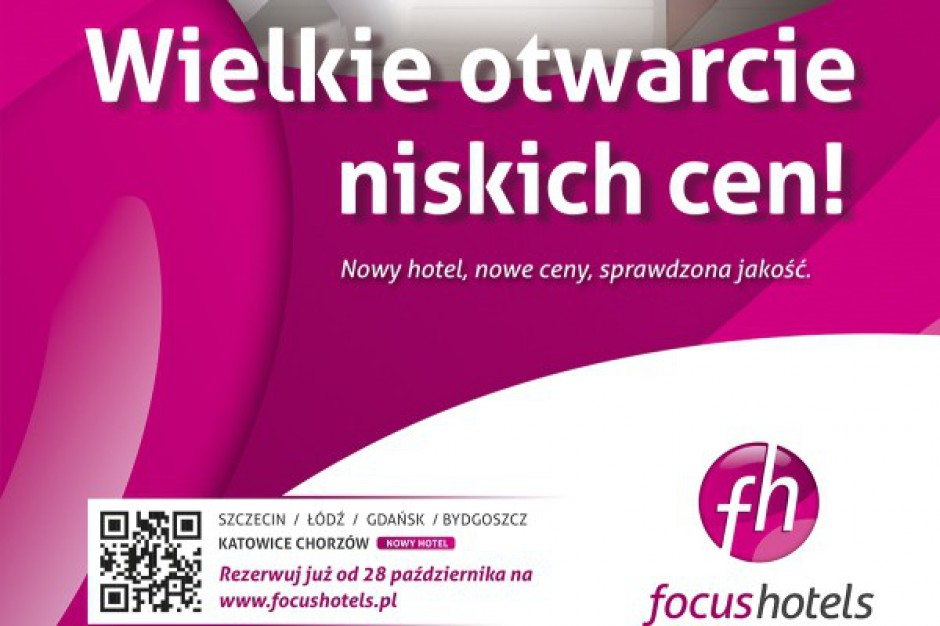 Nowa kampania Focus Hotels
