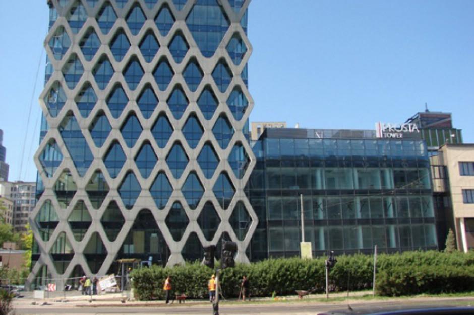 Marvipol wciąż negocjuje leasing biurowca Prosta Tower