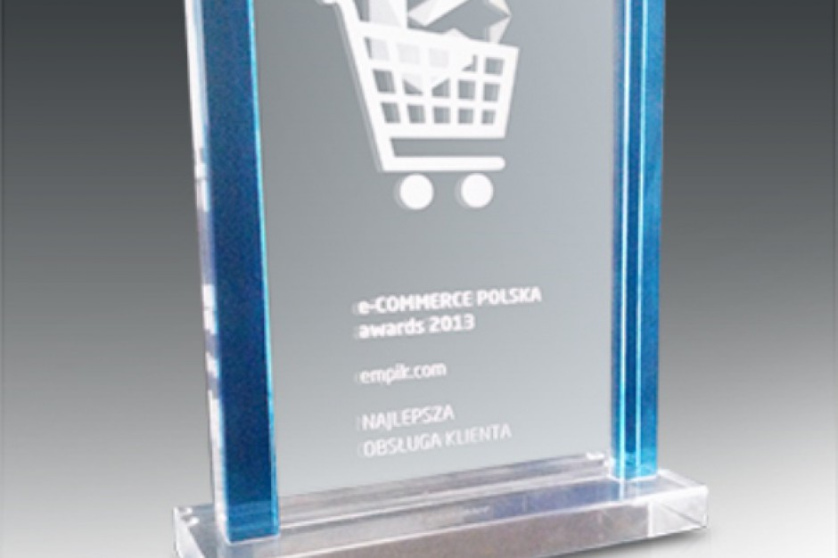 "Empik.com laureatem konkursu ""e-Commerce Polska Awards 2013"""