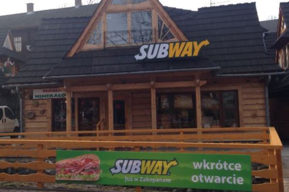 Subway od morza do Tatr