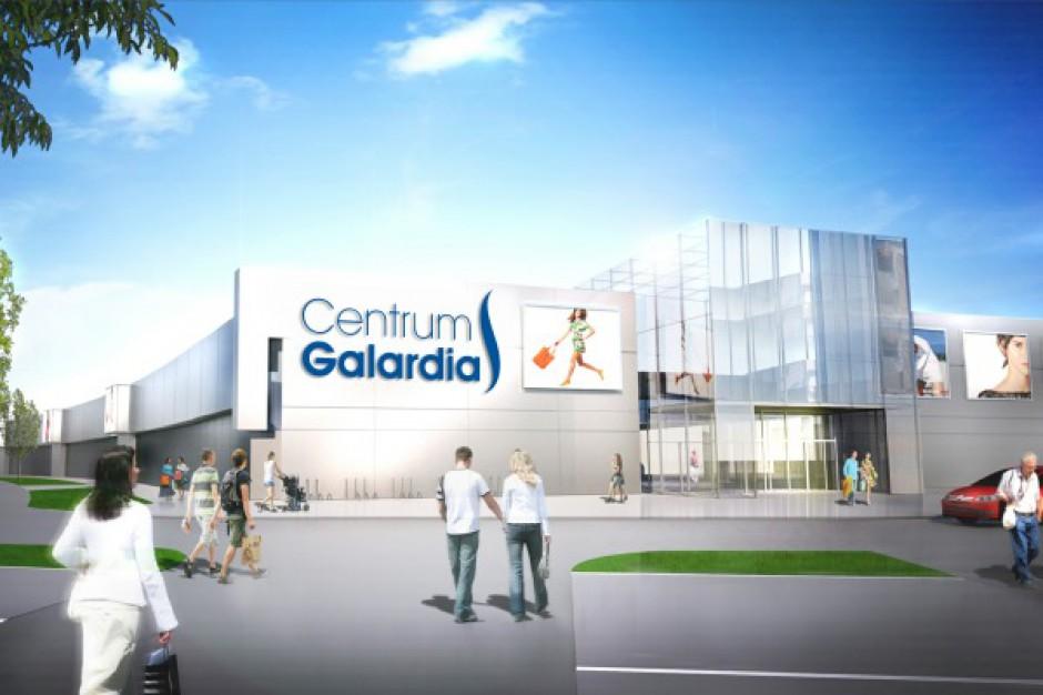 Budowa CH Galardia w Starachowicach na półmetku