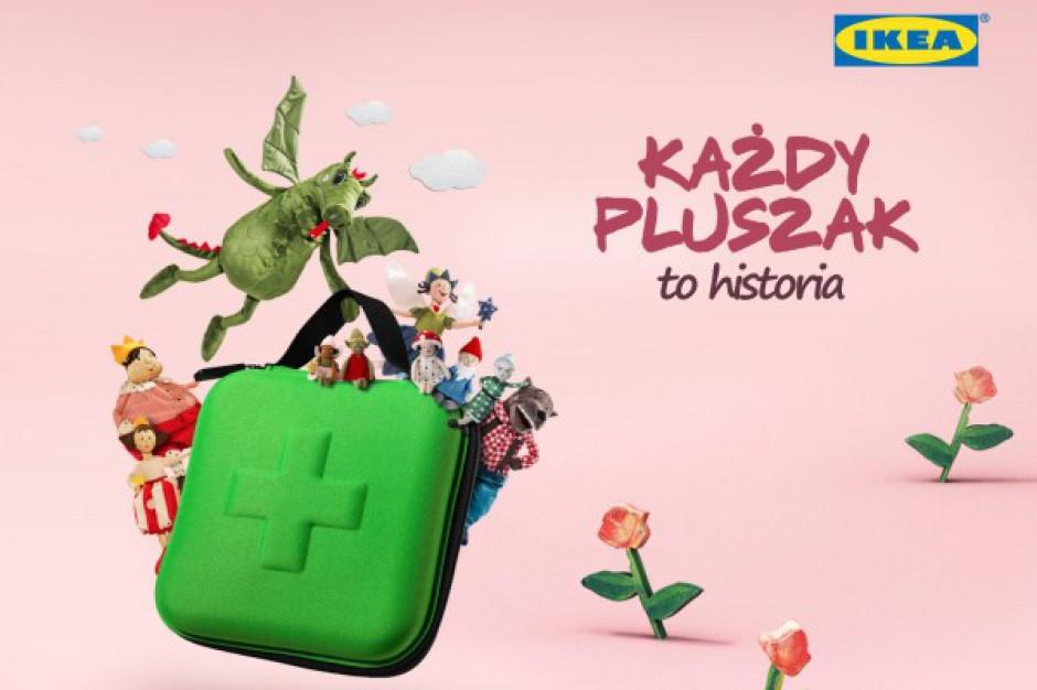 Pluszaki IKEA pomagają dzieciom - audiobook z bajkami gwiazd