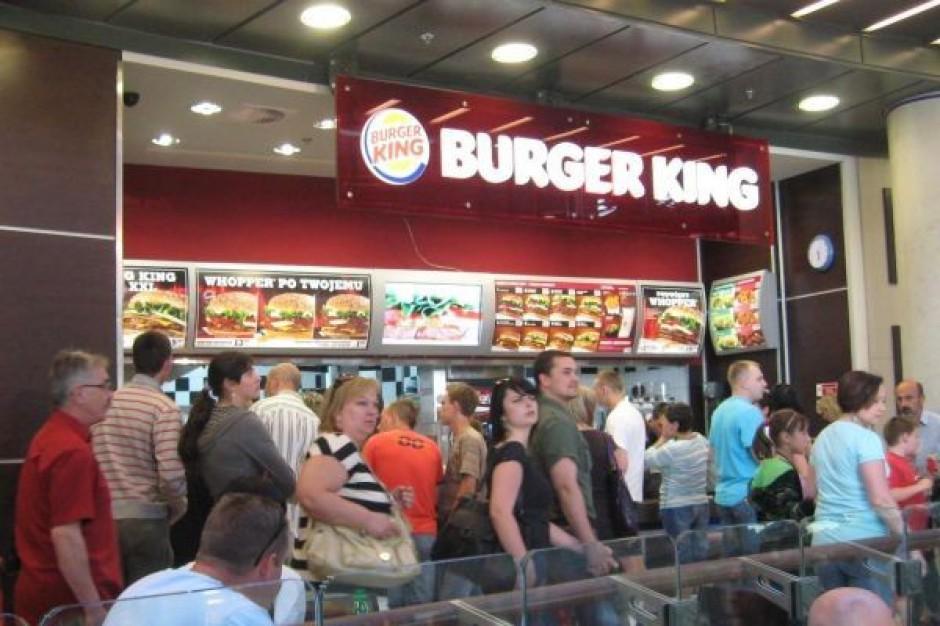 Burger King rozdawał za darmo produkty... McDonalds