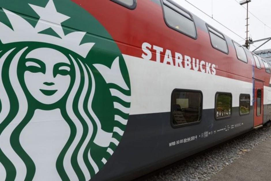Starbucks będzie sprzedawał swoją kawę w pociągach