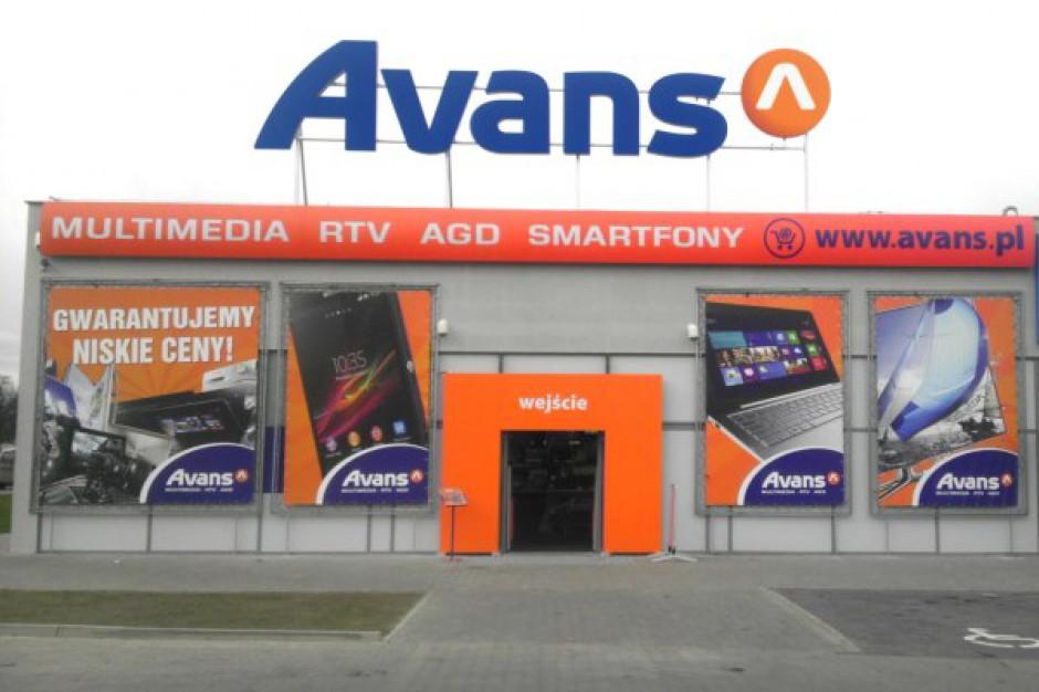 Rośnie liczba elektromarketów Avans