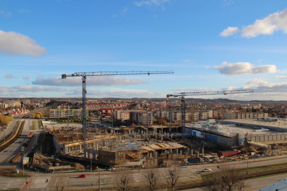Kolejny etap rozbudowy CH Ogrody zakończony