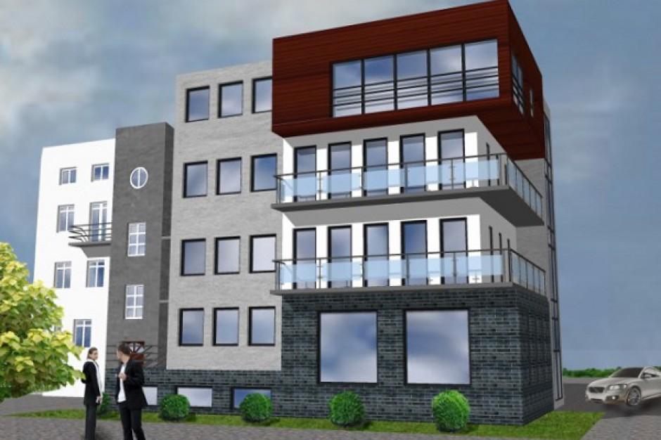 Kończą się prace przy budowie biurowca w Sosnowcu