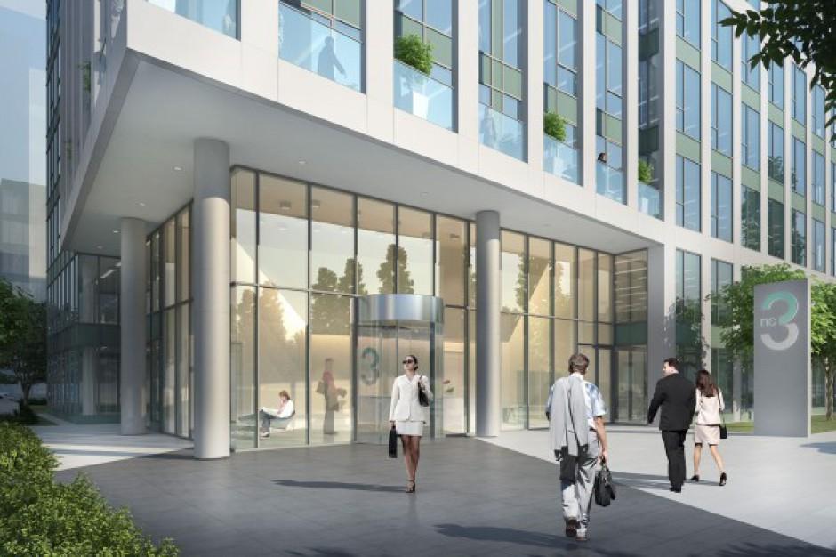 Budynek NC3 z pozwoleniem na budowę