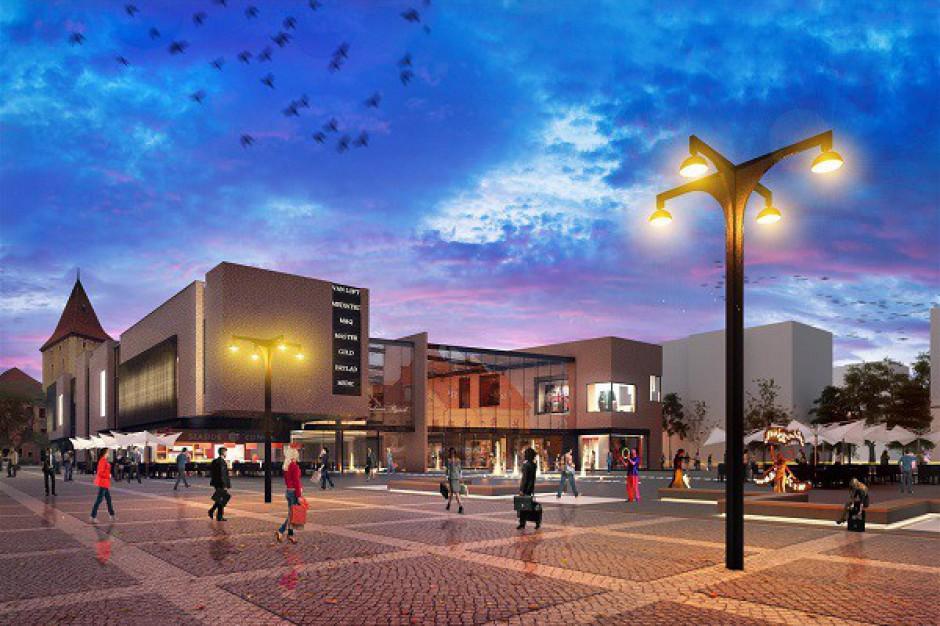 Powstaje nowy projekt Galerii Rynek w Lubinie - wizualizacje