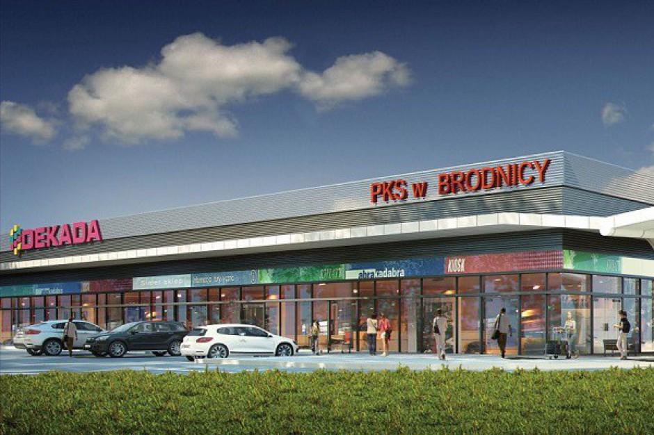 Rozpoczęto budowę centrum handlowego Dekada w Brodnicy