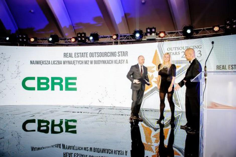 CBRE zbiera laury w konkursie Outsourcing Stars 2013
