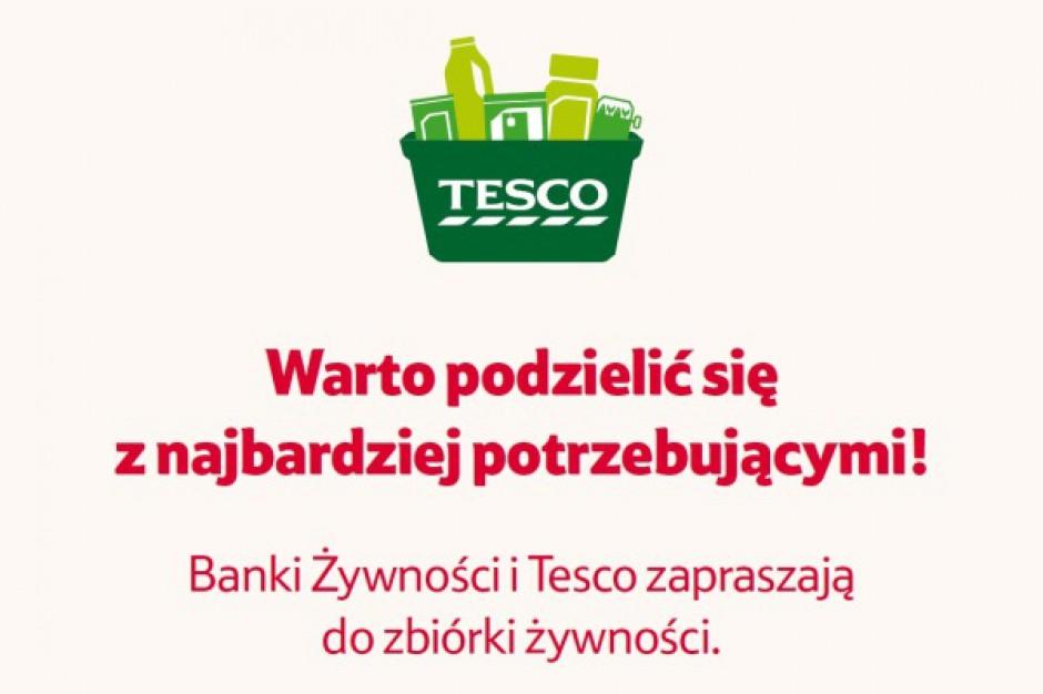 Noworoczna Zbiórka Żywności z Tesco i Federacją Polskich Banków Żywności
