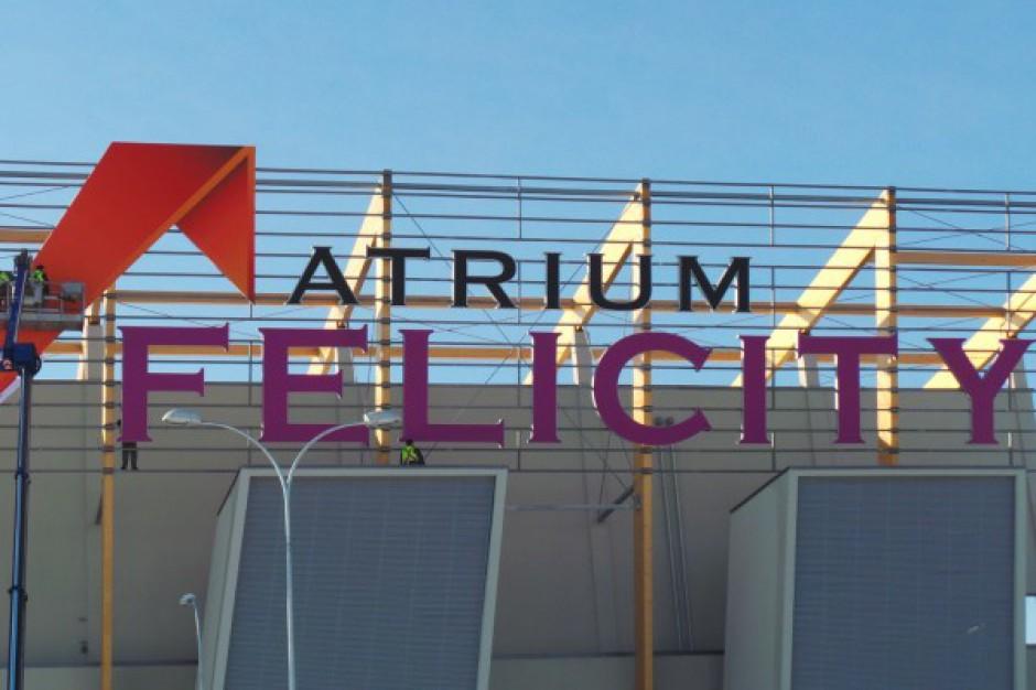 Atrium Felicity z logotypem