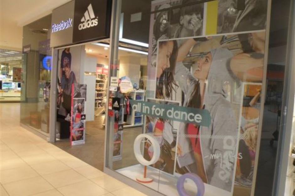 Adidas i Reebok na dłużej w płockiej galerii