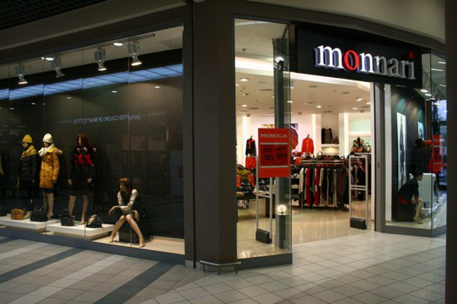 Monnari będzie podawać miesięczne przychody ze sprzedaży
