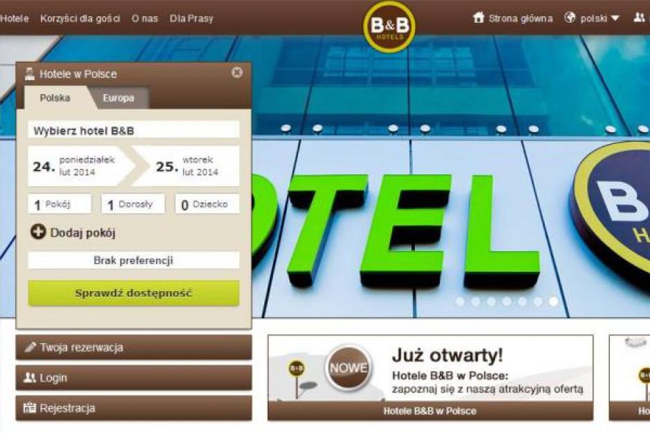 B&B Hotels mają nową stronę internetową